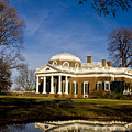 Reflection Of Monticello by Ches Black
