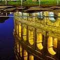 Reflection Of The Colosseum by Fabrizio Troiani