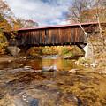 Reflection Under The Durgin Bridge by Jeff Folger