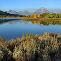 Reflections At Oxbow Bend by Stephen  Vecchiotti