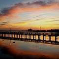 Reflections At Sunrise  by Jim Ferro