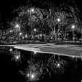 Reflections - Bw by Christopher Holmes
