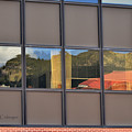 Reflections In An Office Building by Kae Cheatham