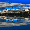 Reflections In Lac Beauvert by Adam Jewell