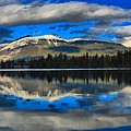 Reflections In Lake Beauvert by Adam Jewell