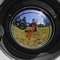 Reflections Of A Carshow by Peter Feo