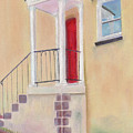 Red Door - Baltimore by Arlene Crafton
