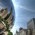 Reflections Of Chicago by John Meader
