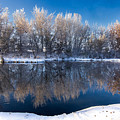 Reflections Of Falwinter Idaho Landscapes By Kaylyn Franks by Omaste Witkowski