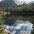 Reflections Of Majestic Mountains by Greg Plamp