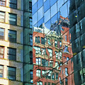 Reflections Of Manhattan by Terry Fiala