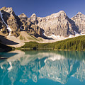 Reflections Of Moraine Lake by Andrew Serff