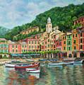 Reflections Of Portofino by Charlotte Blanchard