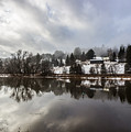 Reflections Of Winter Flood by Tim Kirchoff