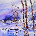 Reflections On Blue by Joy of Life Art