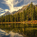 Reflections On Jenny Lake by Maria Coulson