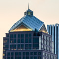 Reflections On Legacy Tower by Ray Sheley