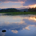 Reflections On Mica Bay by Idaho Scenic Images Linda Lantzy