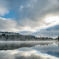Reflections On Reflection Lake 5 by Greg Nyquist
