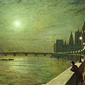 Reflections On The Thames by John Atkinson Grimshaw