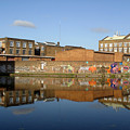 Reflective Canal 3 by Jez C Self