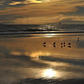 Reflective Sunset by Ken Waters