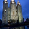 Reflective Temple by Chad Dutson
