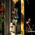 Refuge - Quiet Little Table In The Corner by Miriam Danar