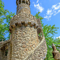 Regaleira Tower Sintra by Benny Marty
