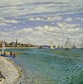 Regatta At Sainte Adresse, 1867  by Claude Monet