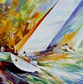 Regatta by Leonid Afremov