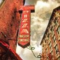 Regina Pizza 11x14 by Joann Vitali
