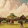 Rehoboth Beach In Fall by Jeffrey Todd Moore
