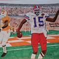 Florida - Tennessee Football by TJ Doyle