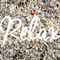 Relax Seashell Background by Edward Fielding