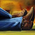 Relaxing by Jessica Krogstadt