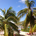 Relaxing On The Beach. Pinel Island Saint Martin Caribbean by Toby McGuire
