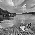 Relaxing On The Dock by Dennis Hedberg