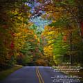 Relief Road  Blue Ridge Parkway by John Haldane