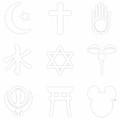 Religions? Take A Closer Look 1 by Tony Rubino