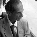 Religious Man On Bus by Scott K Wimer