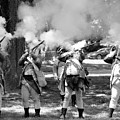 Reliving History-bw by Charles HALL