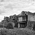 remains of st pauls school derelict building site future campus for university college Birmingham UK by Joe Fox