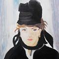 Remake Portrait Of Berthe Morisot by Keshava Shukla