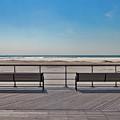 Remembering Winter At Jones Beach by Bob Slitzan