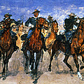 Remington: Troopers, C1890 by Granger