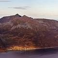 Remote Arctic Island Village by David Broome