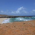 Remote Daimari Beach With Waves Rolling Ashore by DejaVu Designs
