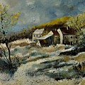 Remote Houses In The Ardennes  by Pol Ledent