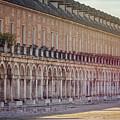 Renaissance Arches Aranjuez Spain by Joan Carroll